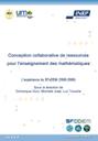 """""""Conception collaborative de ressources pour l'enseignement des mathématiques, l'expérience du SFoDEM"""""""